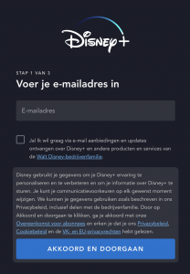 disney-plus-stap-1-email-invoeren